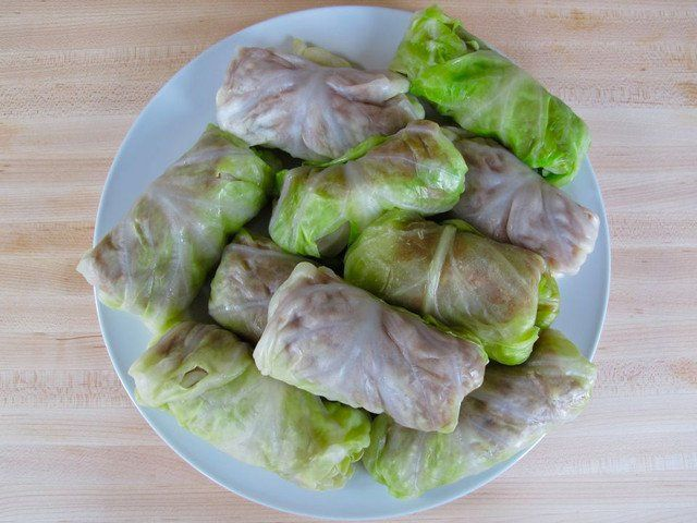 Stuffed Cabbage Leaves 16