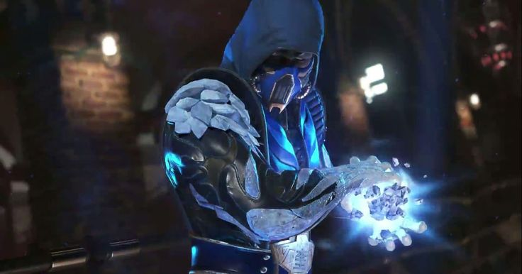 Sub-Zero's Gets Gameplay Shows His Injustice 2 Moves.