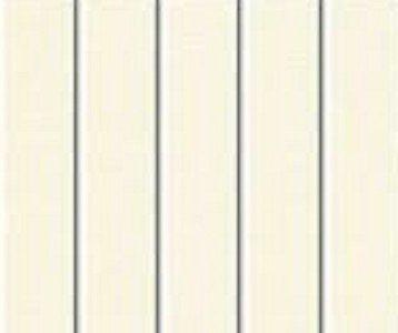 PVC Vertical Blind Replacement Slat (Ivory) 5 Pk 82 1/2 X 3 1/2
