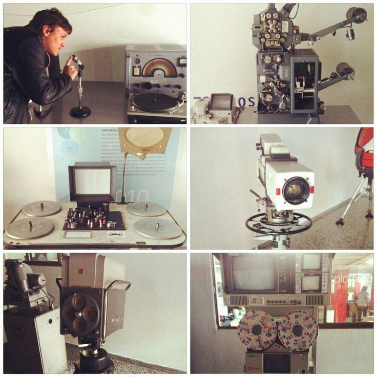 Santi y la maquinaria.