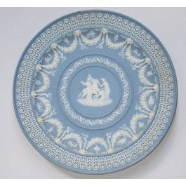 Trophy plate Wedgwood 1880