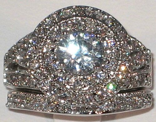 121 best CZ Wedding Bands and Rings images on Pinterest Cz wedding