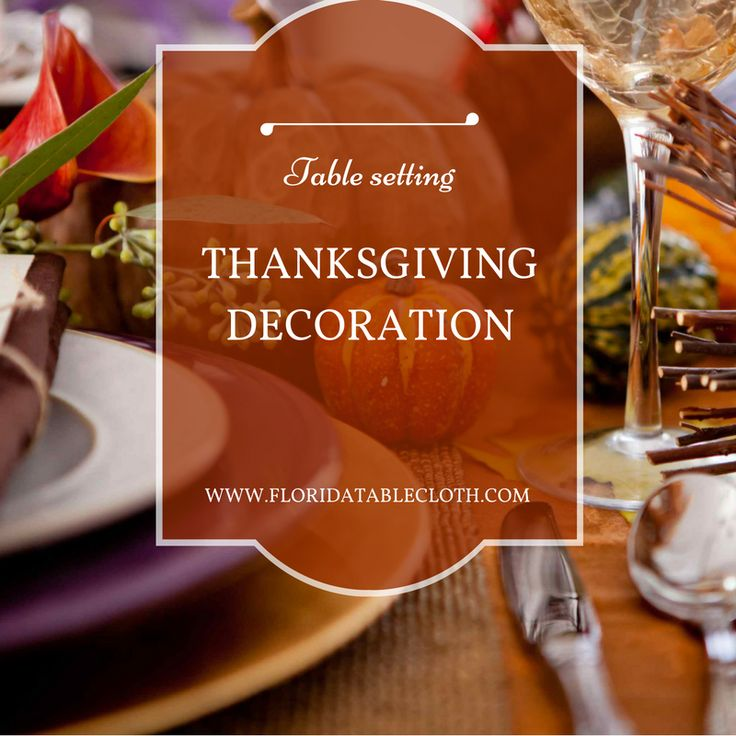 """THANKSGIVING TABLE DECORATIONS  Your #Thanksgiving day is a special moment, for sharing and spend a good time with your loved ones. One of the best parts of this holiday is #setting a beautiful #table. Get started with a nice blue or burnt orange table #runner and a gorgeous vegetable #centerpiece. For each place setting you could use """"place cards"""", a big dinner plate,  blue salad plate and a silver knife and fork. Tell us what you think!  #DECOR #STYLE #TIPS #IDEAS #SETTING #TABLE #THAN"""