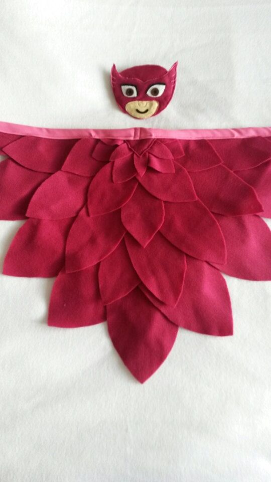 Owlette WINGS ONLY from Disney's PJ Masks children's costume suitable for babies, toddlers and children. Perfect as a Birthday gift by MeniainWonderland on Etsy