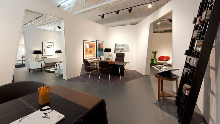 Furniture showroom design showroom small rooms and cubicle for Interior showroom design ideas
