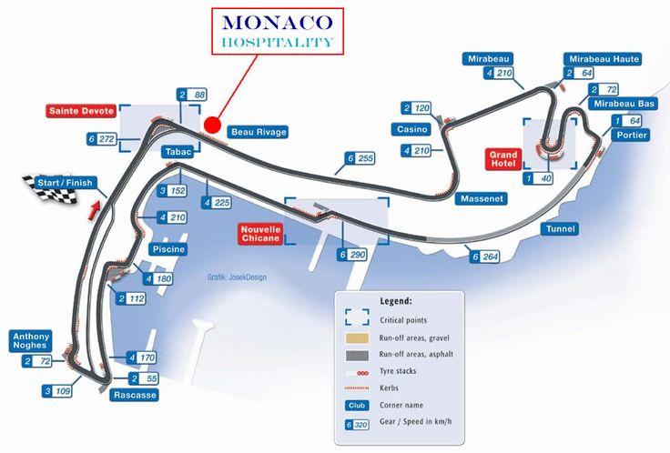 Monaco grand prix circuit monaco grand prix circuit map