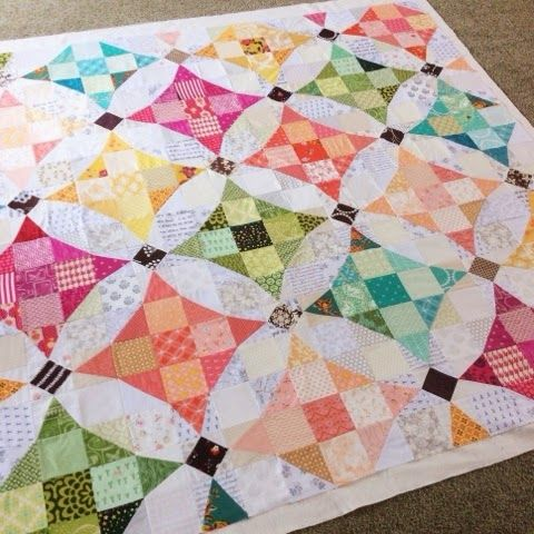 """This is my """"Slow Dance"""" quilt, and is featured in this May 2015 American Quilter magazine.     This quilt was inspired by the ..."""