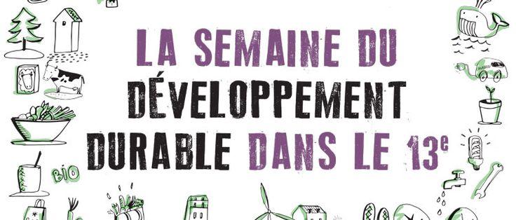 """Résultat de recherche d'images pour """"semaine du développement durable"""""""