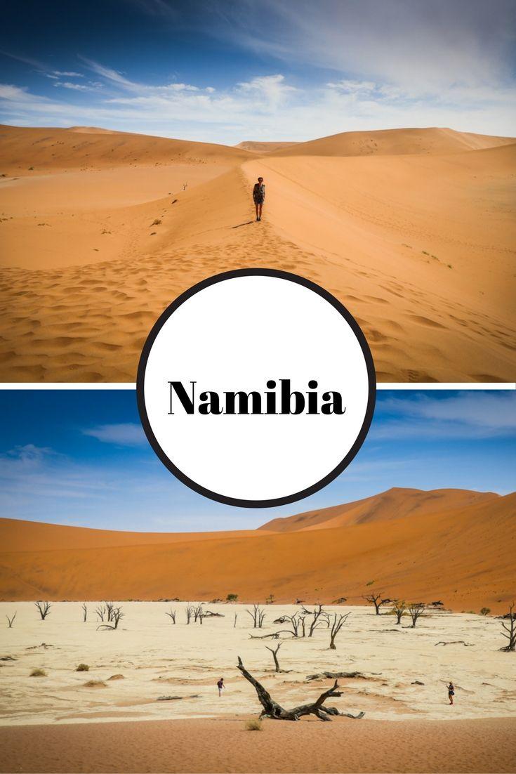 Ich nehme euch mit nach Namibia, Afrika: zur Kalahari und Namib Wüste, einigen der höchsten Dünen der Welt und auf Safari zu Giraffen, Gnus & Straußen.