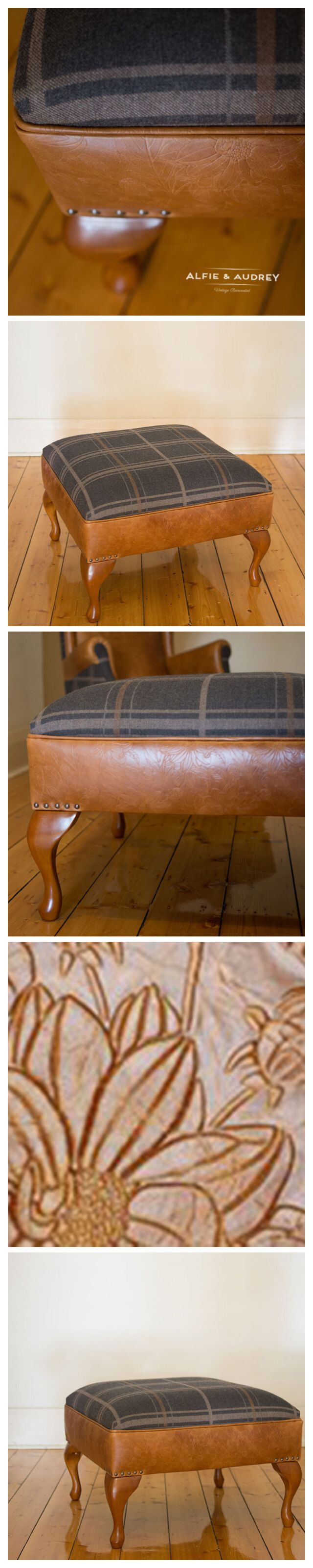 Worthley Collection large ottoman available @ www.alfieandaudrey.com.au
