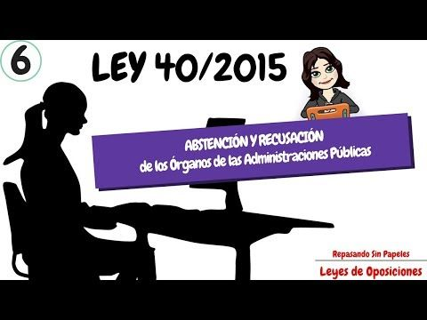 Take a look at my video, folks👇 OPOSICIONES AUXILIAR ADMINISTRATIVO, GUARDIA CIVIL, JUSTICIA, IIPP... 📓 LEY 40/2015 📚 https://youtube.com/watch?v=wdAmiZbjISo