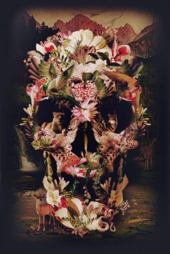 Jungle Skull Fine Art Print - £40.00