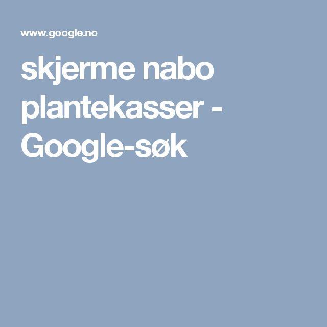 skjerme nabo plantekasser - Google-søk