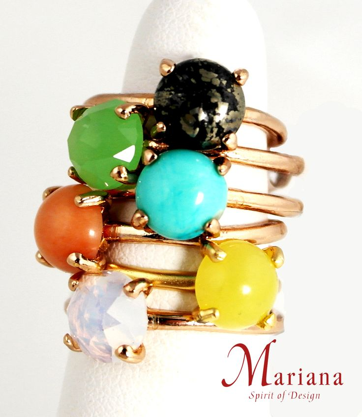 Rings! From Mariana jewelry!