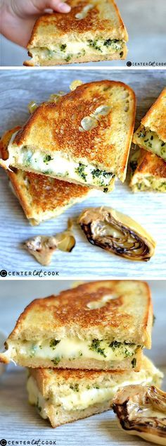 Your favorite sandwich with a simple and delicious twist! Homemade PESTO and ARTICHOKE hearts pair perfectly with melted CHEESE for an easy weeknight dinner.