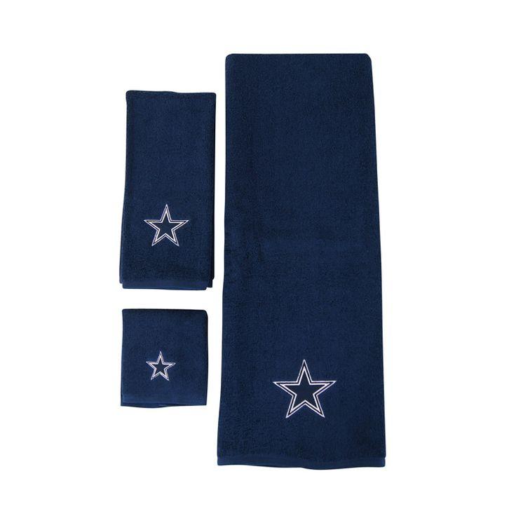 Dallas Cowboys bathroom towels