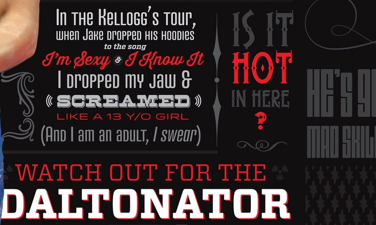 Daltonator :: Watch out for the Daltonator. He's dangerously talented.