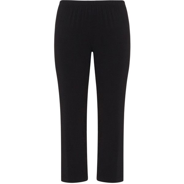 Alice und Jann Black Plus Size Modal mix pyjama trousers ($72) ❤ liked on Polyvore featuring intimates, sleepwear, pajamas, black, plus size, modal sleepwear, plus size pajamas, womens plus size pajamas, women's plus size sleepwear and modal pajamas