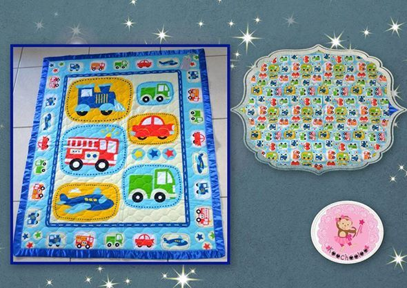 Planes and Automobiles Cot Quilt. Anything Goes Market,Tuesday 20th May