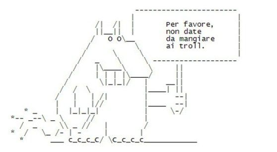 @Twitter adds line breaks; brace yourself for insane#ASCII#art