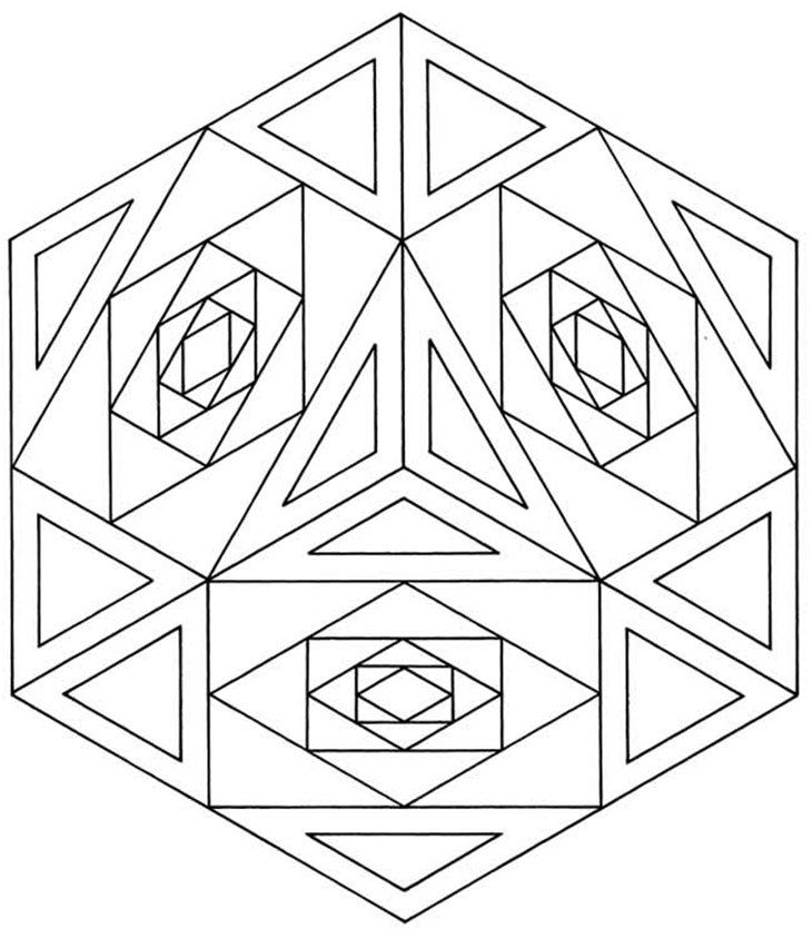 free coloring pages with designs - photo#16