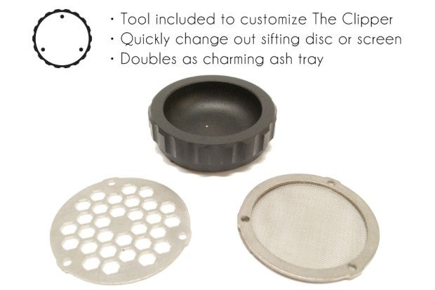 The Clipper - Worlds Most Innovative Grinder | Indiegogo