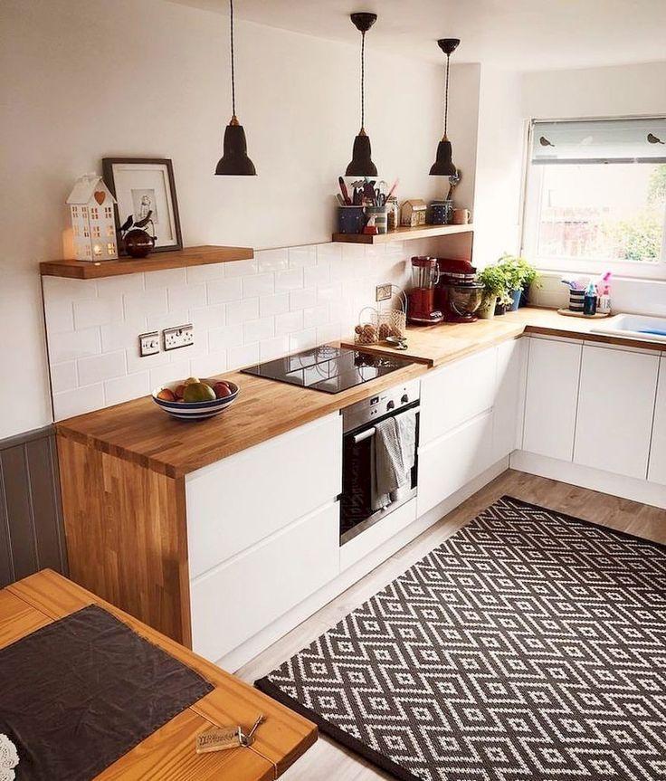 Atemberaubende minimalistische Küchendeko-Ideen