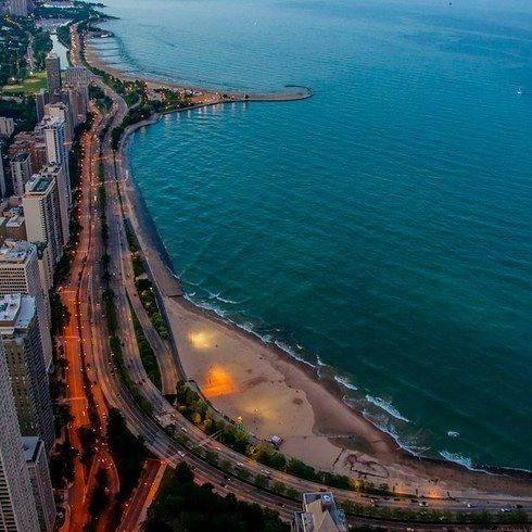 Take the scenic route around Lake Michigan.