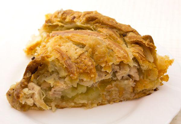 Рецепт татарского пирога с черносливом