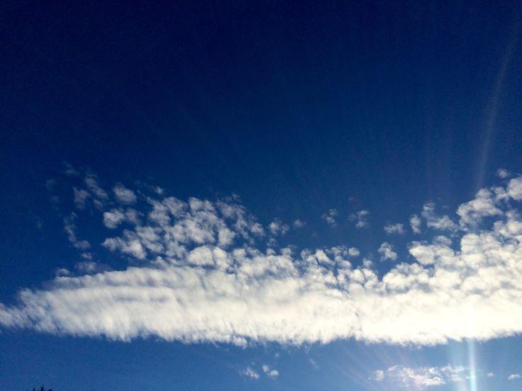 Облака в феврале☀️