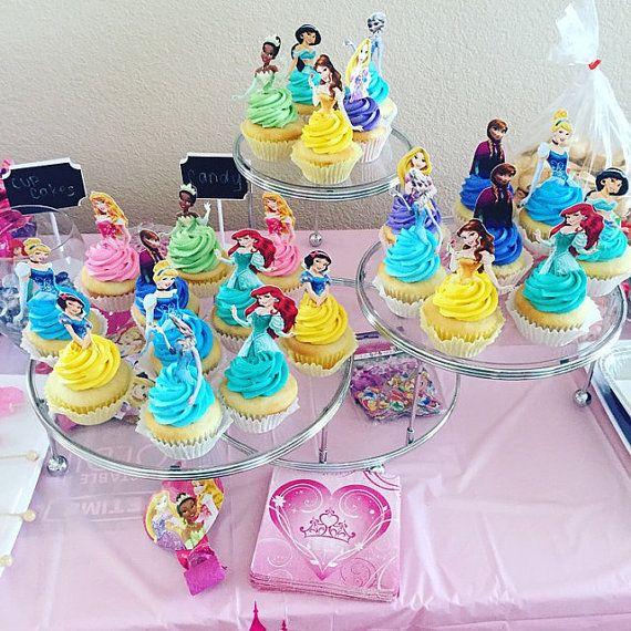 Princess Birthday Cake Toppers