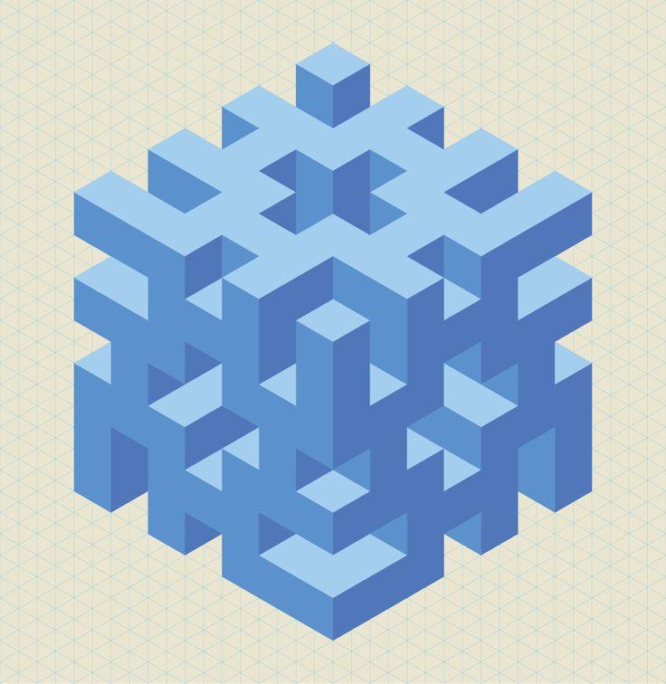 56 best op art graphics images on pinterest op art for Geometric illusion art