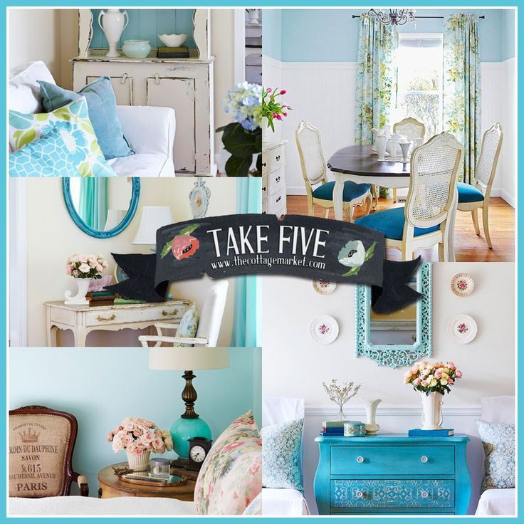 Take 5:  A little blue Cottage