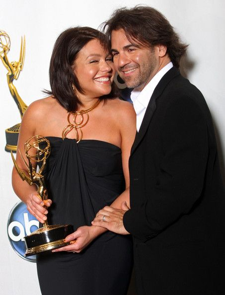 Rachael Ray with husband John Cusimano. 35th Annual Daytime Emmy Awards.