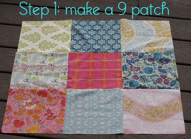 Quilt Story: Disappearing 9 patch tutorial..great idea for community service quilt.....fast and easy!