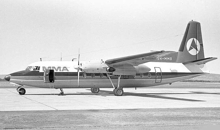 East West Airlines F.27 VH-MMB