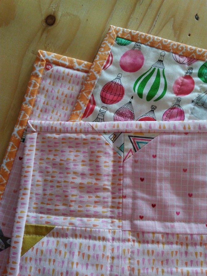 Binding - baby quilt... see more in my Instagram profile @jolana_sekyrka