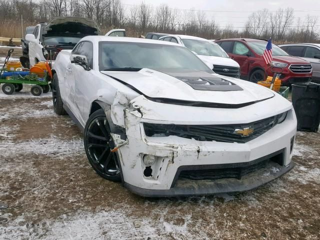 Salvage 2015 Chevrolet Camaro Zl1 Coupe For Sale Salvage Title