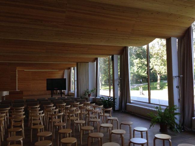 Библиотека Аалто в Выборге. Лекционный зал. Фотография © «ДНК аг»