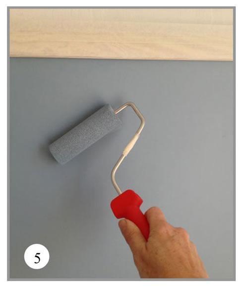 Como pintar una pared de pizarra para la habitaci n de for Como pintar mi cuarto