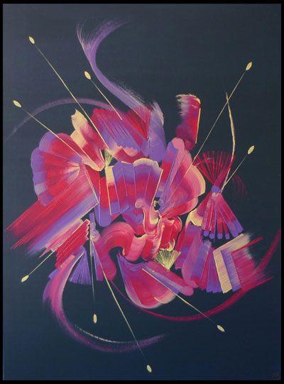 photo_tableau_Peinture abstraite PLAISIR INDISCRET