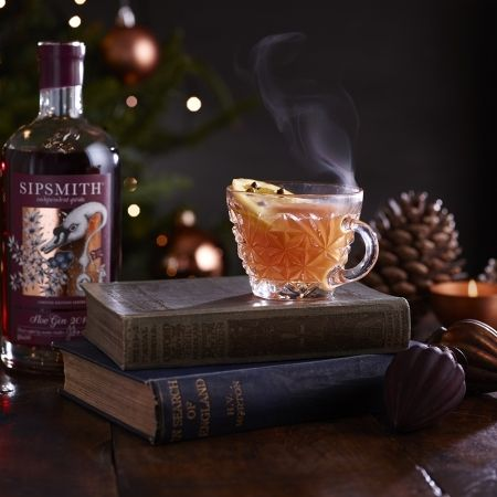 Spiced Mulled Sloe Gin is a perfect winter warmer to serve up on Bonfire night