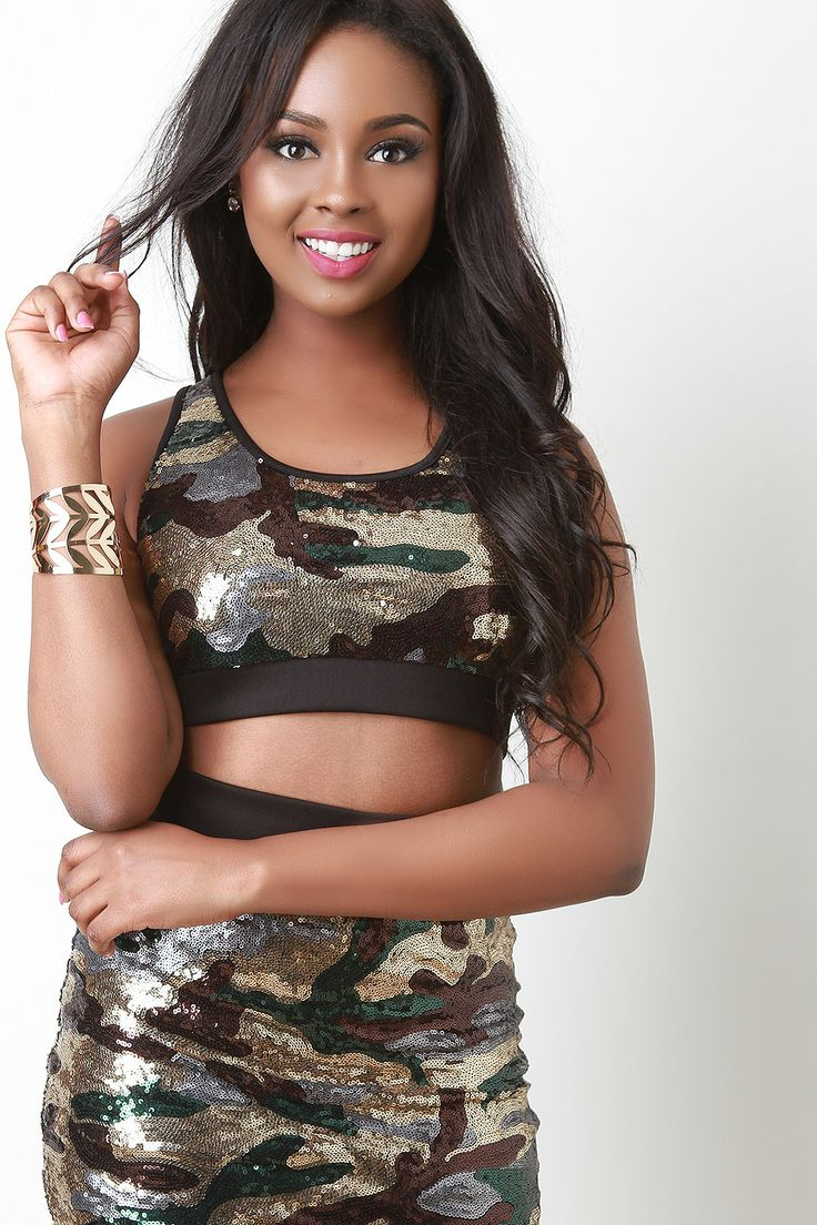 This just in at Gioellia Sequin Camouflage... Shop here  http://gioellia.com/products/ung73271?utm_campaign=social_autopilot&utm_source=pin&utm_medium=pin
