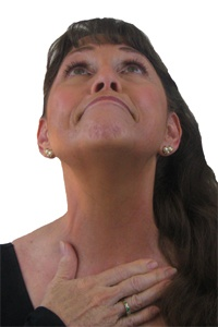 Carolyn's facial fitness. Exercises for double chin, crows feet and other signs of aging
