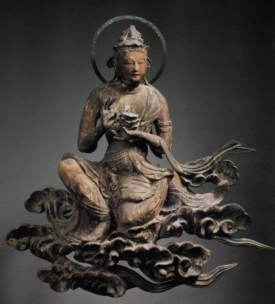 平等院 雲中供養菩薩像 北25号像/Unchu Kuyo Bodhisattva