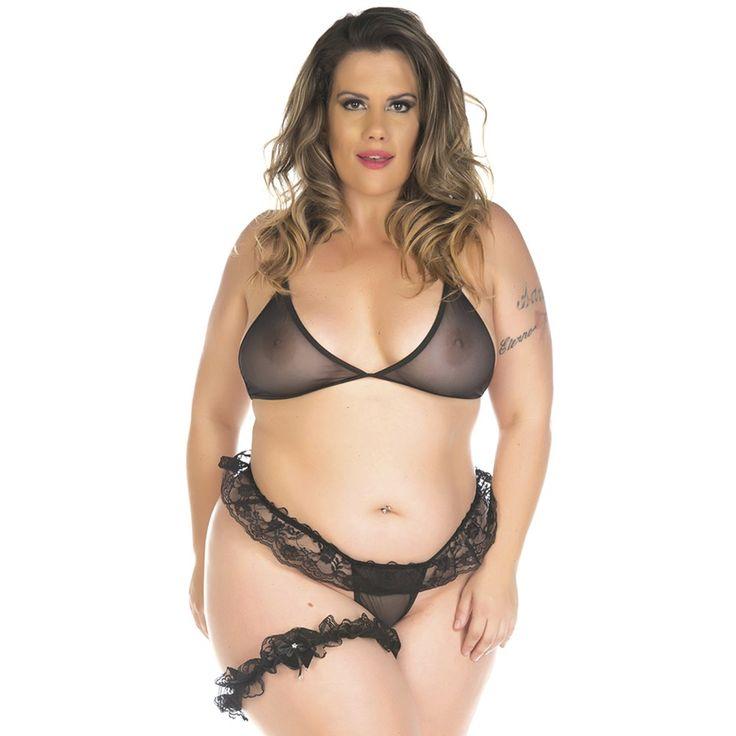 Aline Valente - Mini komplet Fantasy Plus Size Sexy Set Sexy-8426