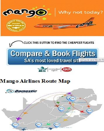 Book online Cheap #Mango_Airlines Flights here OR You can compare to other and Book Flights SA's Most Loved travel Site. Also you can see Mango Airlines Route Map - Domestic Flights South Africa.... https://www.domesticflights-southafrica.co.za/domestic-airlines/mango-airlines/
