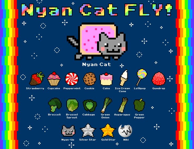 44 best Nyan Cat images on Pinterest | Nyan cat, Nyan nyan and Cats