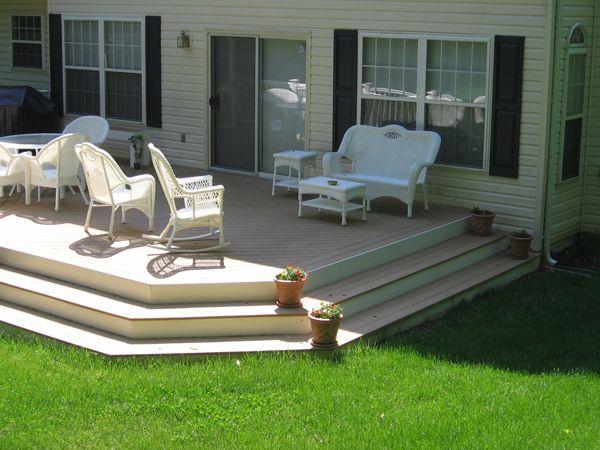 low decks | Decks, Composite Decking, Railing : Anne Arundel County, Maryland MD