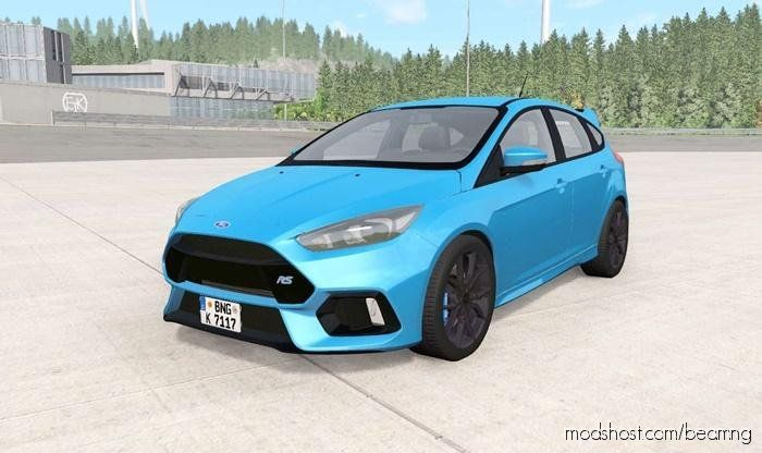 Download Ford Focus Rs Dyb 2016 For Beamng Drive In 2020 Ford